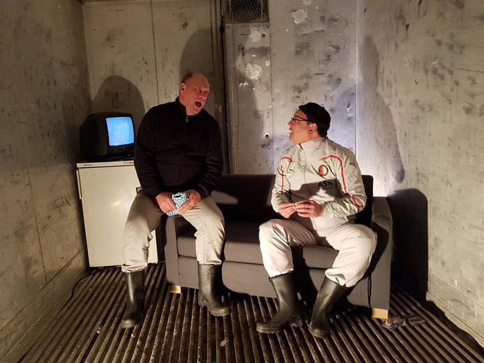 BOXtheater: Han Pijnenburg en Robert Brussée.