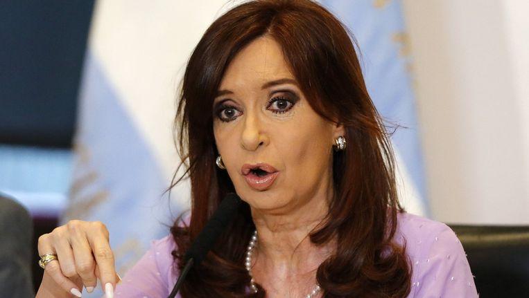 Argentijnse president Cristina Fernandez de Kirchner Beeld reuters