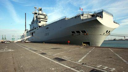 Vier gewonden bij helikoptercrash op Frans marineschip in Noordzee