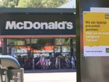 McDonald's aan De Werf weer deels open na coronabesmetting twee medewerkers