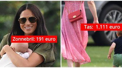 Casual, maar niet per se goedkoop: zoveel kostten de outfits van de Britse royals gisteren