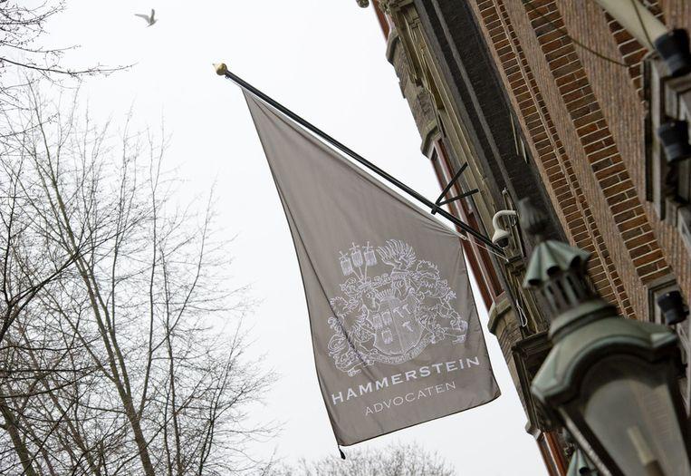 De woning van advocaat Oscar Hammerstein. Het juridisch conflict tussen de Amsterdamse advocaat Oscar Hammerstein en muziekproducent Riny Schreijenberg sleept zicht voort. Beeld ANP