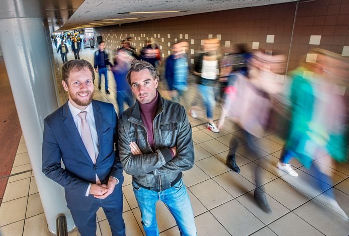 Gert Jan Geling (links) en Gerben Bakker: ,,Mensen die het aandurven ergens kritisch op te zijn, worden besmeurd.''