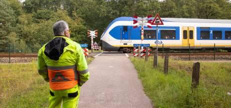 Tellingen op vier Rhedense overwegen vanwege ongeval in Drenthe, niet om komende werkzaamheden