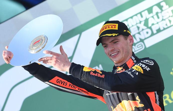 Max Verstappen werd derde op de Grand Prix in Melbourne afgelopen weekend.