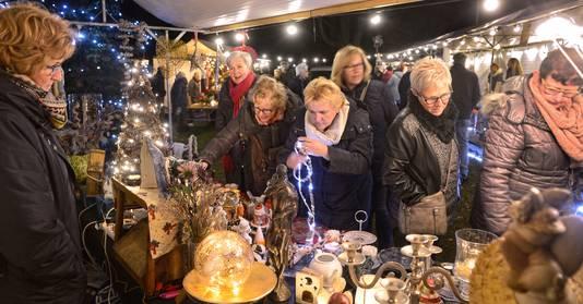 Kerstmarkt bij Huize Padua in Boekel.