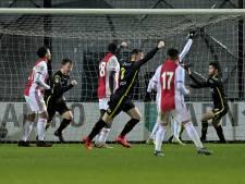 90 minuten houden GA Eagles en Jong Ajax elkaar in evenwicht, dan vallen de goals