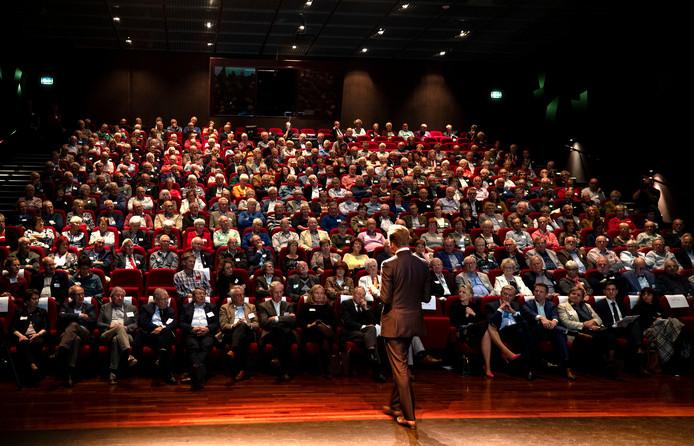 Minister Hugo de Jonge op het jaarcongres van KBO Brabant in De Enck in Oirschot.