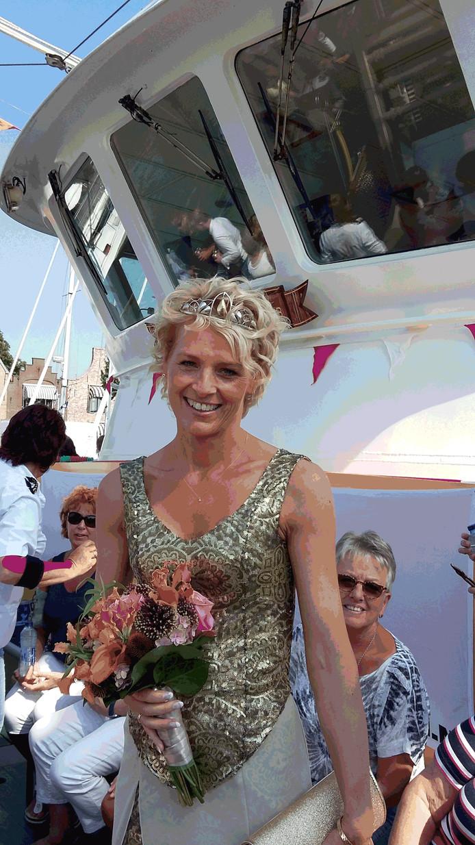 Vera van den Hoek uit Zierikzee is mosselprinses 2016