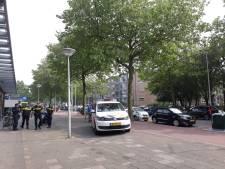 Politie met man en macht op zoek naar steker bij Beresteinlaan