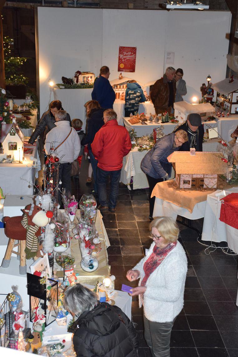 De expo The Small Christmas World kon op veel bijval rekenen