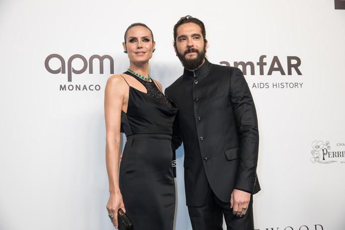Heidi Klum met Tom Kaulitz