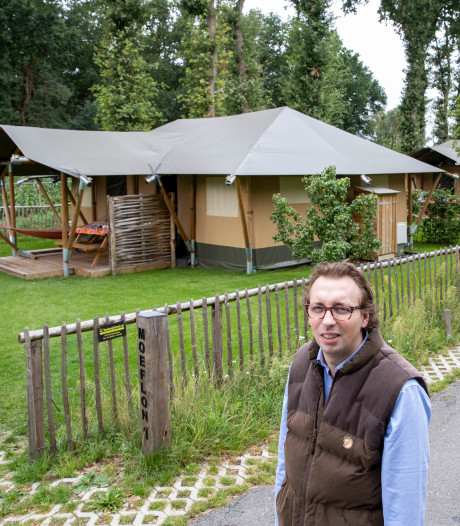 De camping wordt steeds luxer: 'Een caravan was voor minder bedeelden, nu meer voor de elite'