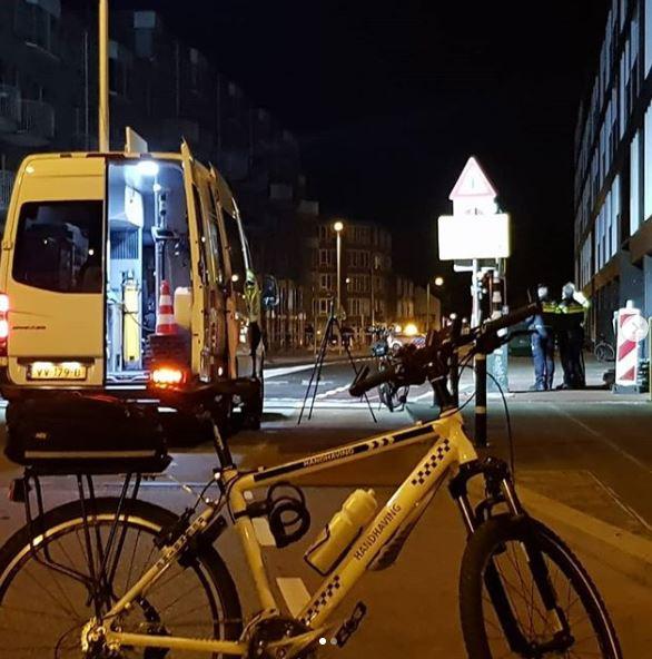 Onderzoek na het ongeval op de Kaatstraat op 1 september.