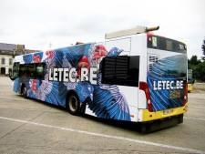 Deux artistes liégeois à l'honneur sur des bus du TEC
