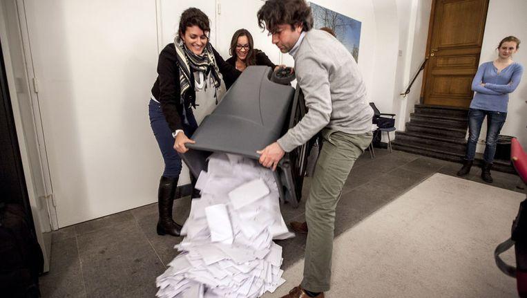 Voor een hertelling van de stemmen was in Zuidoost geen aanleiding, oordeelde het centraal stembureau Beeld Jean-Pierre Geusens