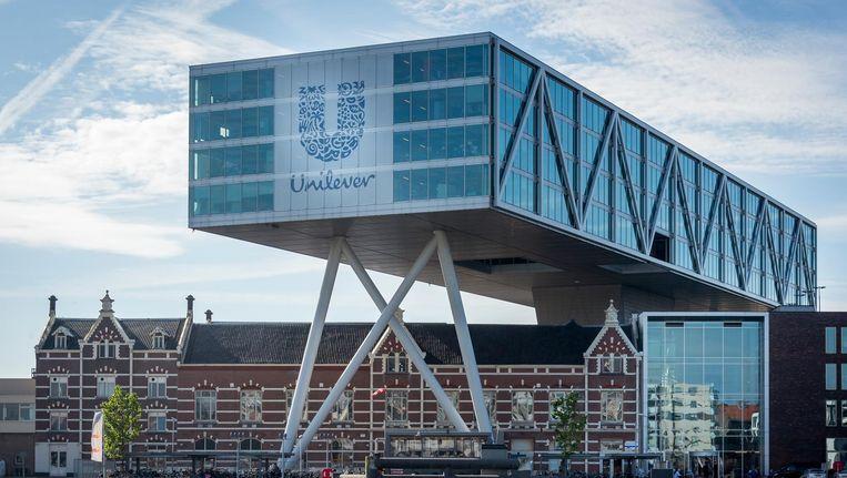 Het hoofdkantoor in Unilever in Rotterdam Beeld anp