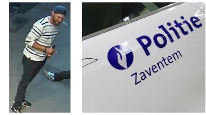 Politie zoekt deze man die kopstoot uitdeelde aan jonge bewoner in Sterrebeek