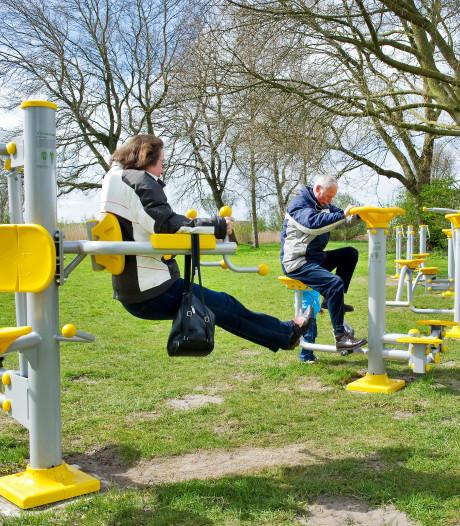 Gemeente Uden plaatst outdoor fitness in sportpark