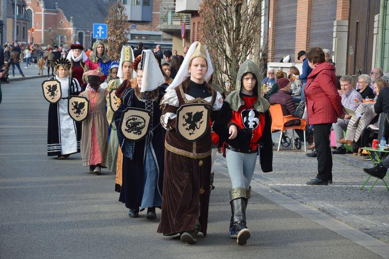 Kleine ridders en jonkvrouwen