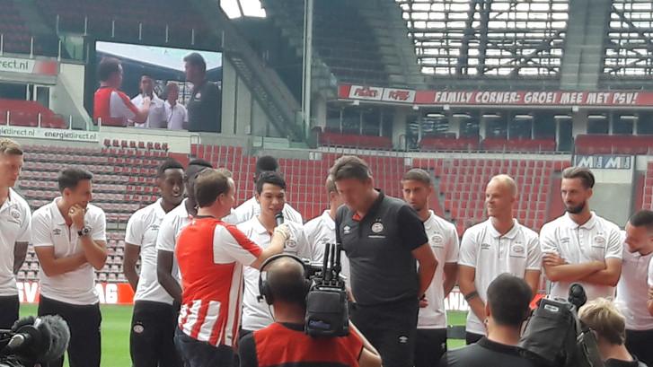 12.000 supporters bezoeken open dag PSV