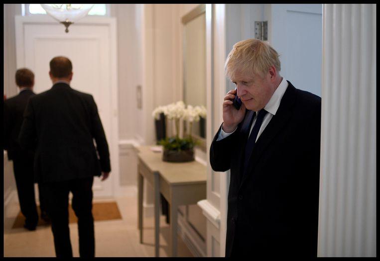Boris Johnson wil 110 miljoen euro uitgeven aan advertenties over zijn brexitplan.