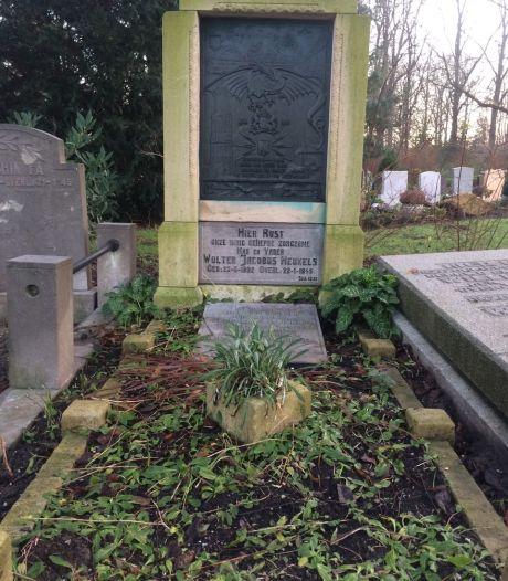 Mysterie: is het graf van de Utrechtse verzetsman Heukels geschonden?