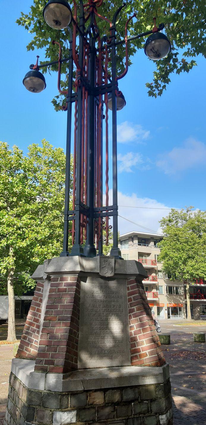 Het annexatie-monument voor de Sint-Joriskerk in Eindhoven.