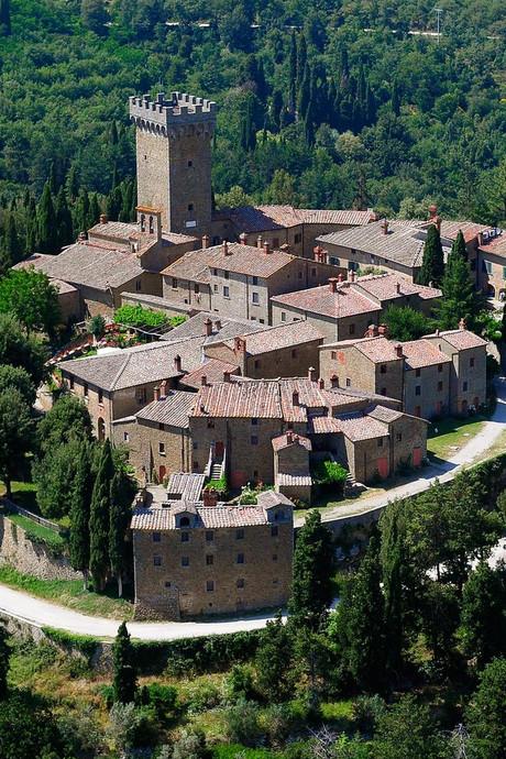 Het Italiaanse dorp Gargonza als erfenis