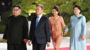 Hand in hand met Zuid-Koreaanse presidentsvrouw: Ri Sol-ju maakt weer goede beurt op tweede buitenlandse ontmoeting met man Kim Jong-un