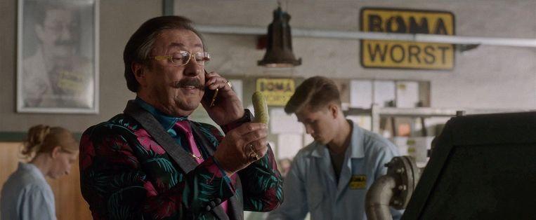 Robin speelde als figurant in de fabriek van Boma.