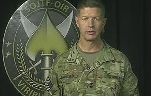 Generaal-majoor James Jarrard.
