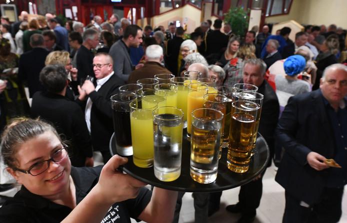 Alcoholvrije receptie in de gemeente Buren.