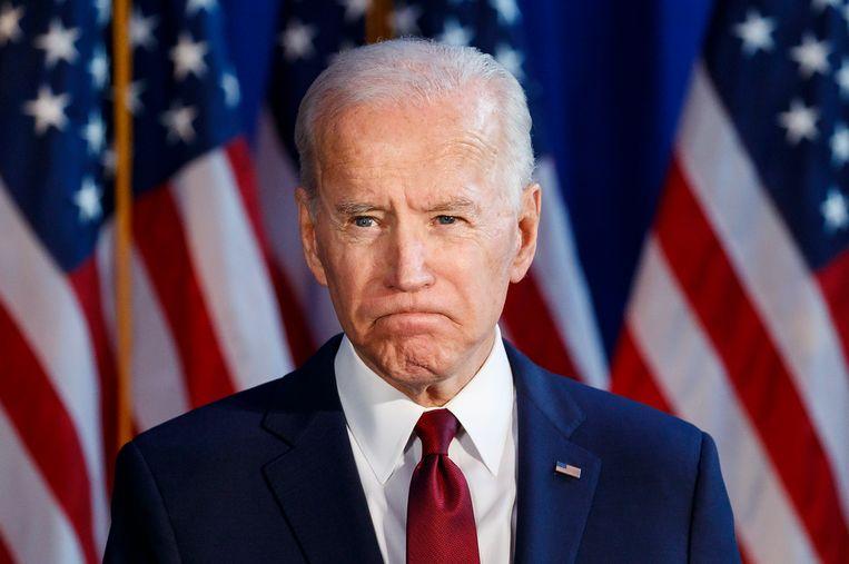 Beeld ter illustratie, Joe Biden.