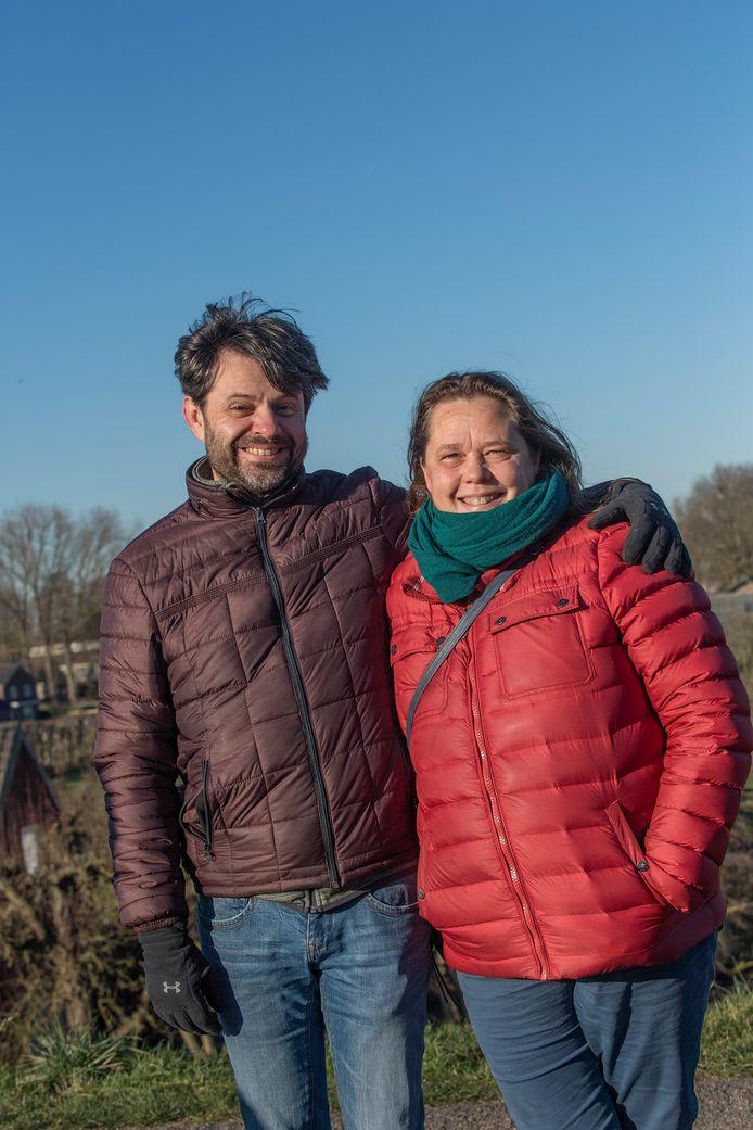 Jaap Goddijn en Diana van Dam.