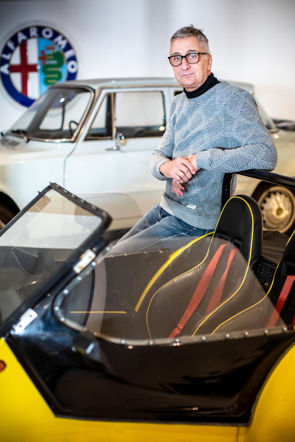 George Houthuyzen, coureur in toerwagens tussen 1975 en 1985, is nu eigenaar van een garage in Gorinchem. Hij volgde in 1985 de laatste Grand Prix in Zandvoort vanuit de wedstrijdtoren.