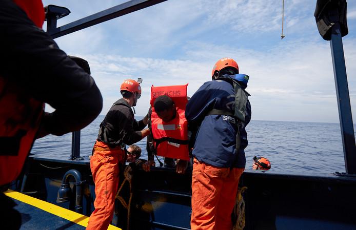 Sea-Watch in actie