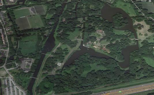 Het Prinses Beatrixpark in Schiedam.