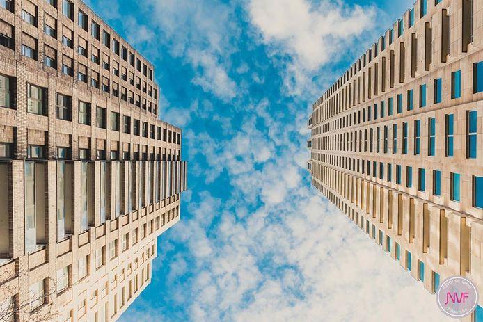 Woontoren New Orleans in Rotterdam is de hoogste van Nederland.
