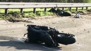Motorrijder (40) kritiek na harde knal tegen vrachtwagen
