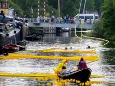 Speurtocht, badeendenrace én watersurvivalbaan afgelast. Maar dat is toch op en aan het water?