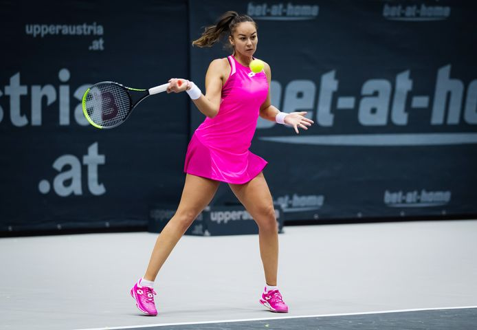 Lesley Pattinama-Kerkhove begint overtuigend aan het kwalificatietoernooi van de Australian Open.