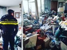 Agent deelt foto van zoektocht naar bankpas in ernstig vervuilde woning in Nijmegen