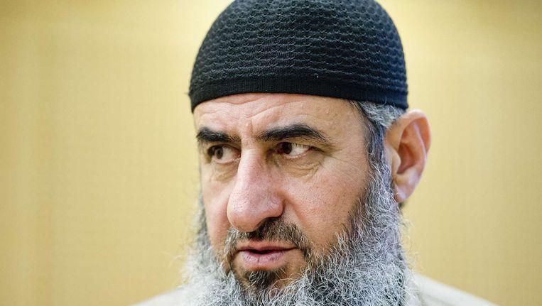 Mullah Krekar, ideologische leider van de groep.