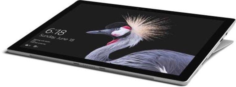 De 2017-uitvoering van de Surface Pro.