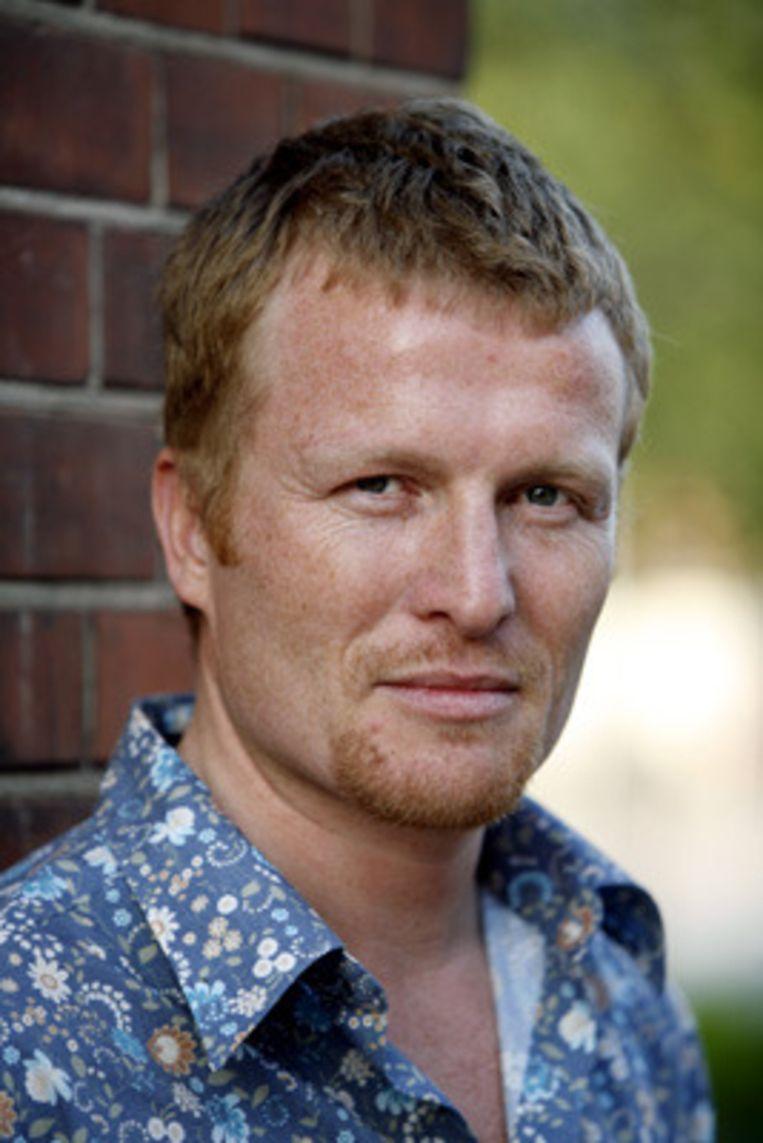Acteur Roef Ragas (archieffoto april 2007) is donderdag op 42-jarige leeftijd overleden aan een hartstilstand. Hij was bekend van de tv-serie Grijpstra & De Gier. (Kippa) Beeld