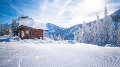 Na alle sneeuwellende is de zon terug in Oostenrijk en dat levert prachtige beelden op