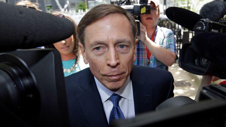 David Petraeus, de voormalige directeur van de CIA.