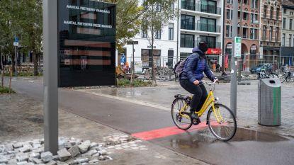 Acht nieuwe telpunten brengen fietsers in kaart