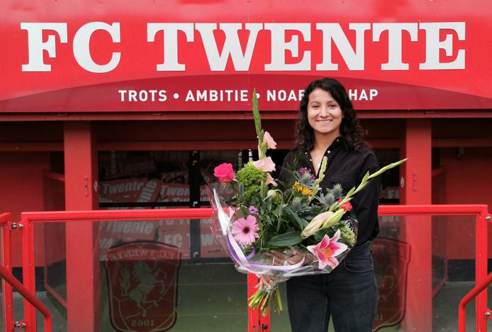 Sabrine Ellouzi, FC Twente Vrouwen.